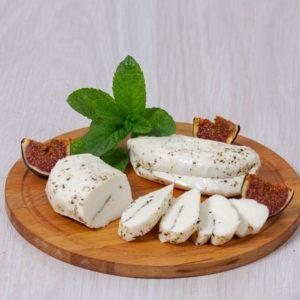 Халлуми сыр для жарки на гриле, сыроварня Listgarten [46-06)